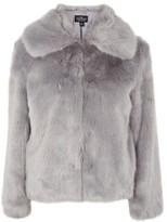 Topshop TALL Faux Fur Coat