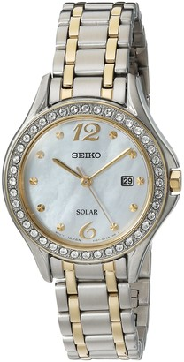 Seiko Women's Quartz Stainless Steel Casual Watch Color:Two Tone (Model: SUT312)
