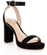 Antonio Melani Sarita Suede Platform Sandals