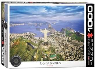 Eurographics Rio De Janeiro Brazil 1000-Piece Jigsaw Puzzle Set