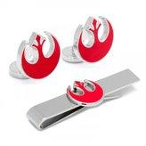 Star Wars Rebel Symbol Cufflinks and Tie Bar Gift Set