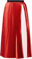Ted Baker Osla Colour Block Pleated Midi Skirt