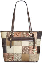 Giani Bernini Patchwork Tulip Tote, Created for Macy's
