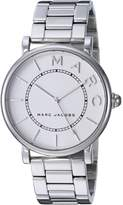 Marc Jacobs Women's 'Roxy' Quartz Stainless Steel Casual Watch, Color:Silver-Toned (Model: MJ3521)