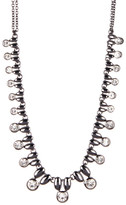 Stephan & Co Small Stone Statement Necklace