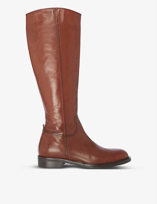 Dune Tillsie knee-high leather boots