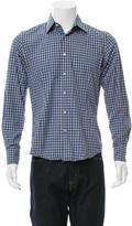 Valentino Slim-Fit Plaid Shirt