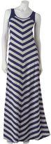 Lauren Conrad striped maxi dress - women's