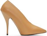 Stella McCartney Tan Pointed Heels
