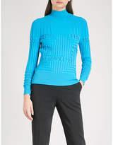 Mary Katrantzou Hardy turtleneck knitted jumper