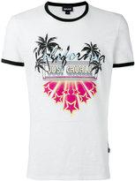 Just Cavalli beach print T-shirt