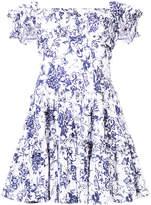 Caroline Constas floral print flared dress