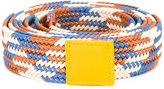 Sofie D'hoore multi striped belt