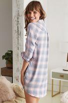 aerie Softest Flannel Ever! Shirtdress