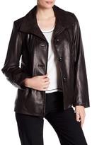 Ellen Tracy Genuine Lamb Leather Jacket