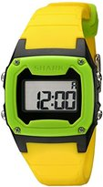 Freestyle Unisex 101808 Shark Classic Green and Black Digital Watch with Yellow Band