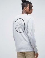 Poler Long Sleeve Tee With Back Print