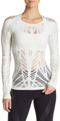 Alo Wanderer Long Sleeve Cutout T-Shirt