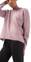 Topshop Pointelle Boxy Sweater