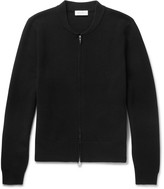 Enlist - Milano Slim-fit Merino Wool Zip-up Cardigan
