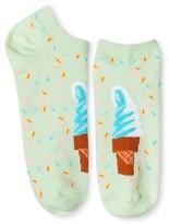 Xhilaration Women's Low Cut Fashion Socks Pastel Green