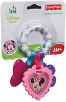 Fisher-Price Disney baby minnie mouse teether bracelet