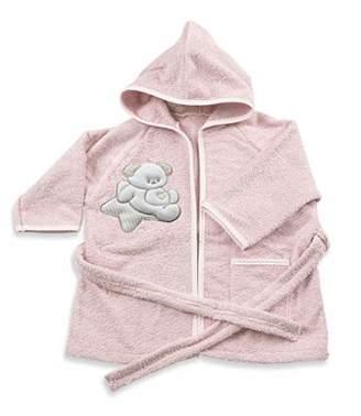 Italbaby Baby Baby Terry Bathrobe 0-6 Months Sweet Pink - 550 g