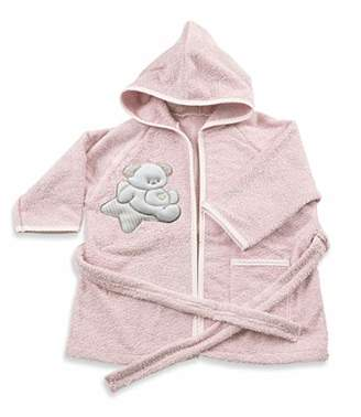 Italbaby Baby Bath Robe for Babies 6-18 Months Sweet Pink - 550 g