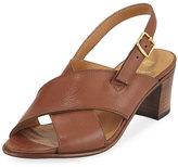Gravati Leather Crisscross City Sandal
