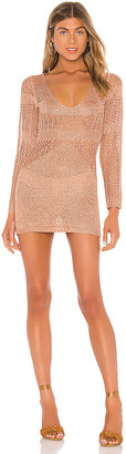 superdown Nuri Crochet Mini Dress