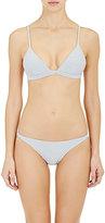 Onia Women's Danni Bikini Top-GREY, WHITE
