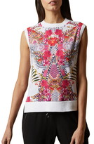 Ted Baker Tamarie Samba Mixed Media Shell