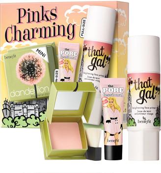 Benefit Cosmetics Pinks Charming Face Primer, Face Brightening Powder & Blush Kit