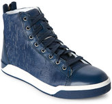 Diesel Insignia Blue Tempus Diamond High Top Sneakers