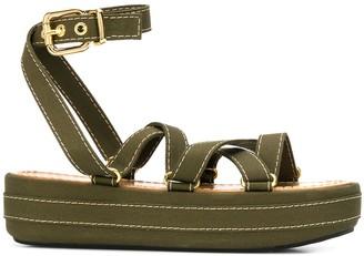 Marni strappy platform sandals