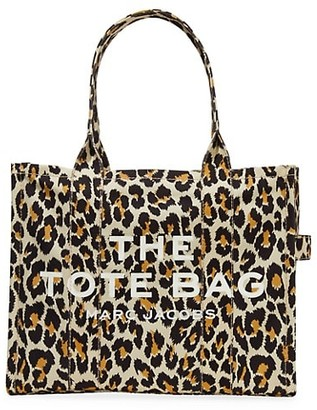 Marc Jacobs Traveler Leopard-Print Canvas Tote