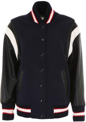 Stella McCartney Varsity Bomber Jacket