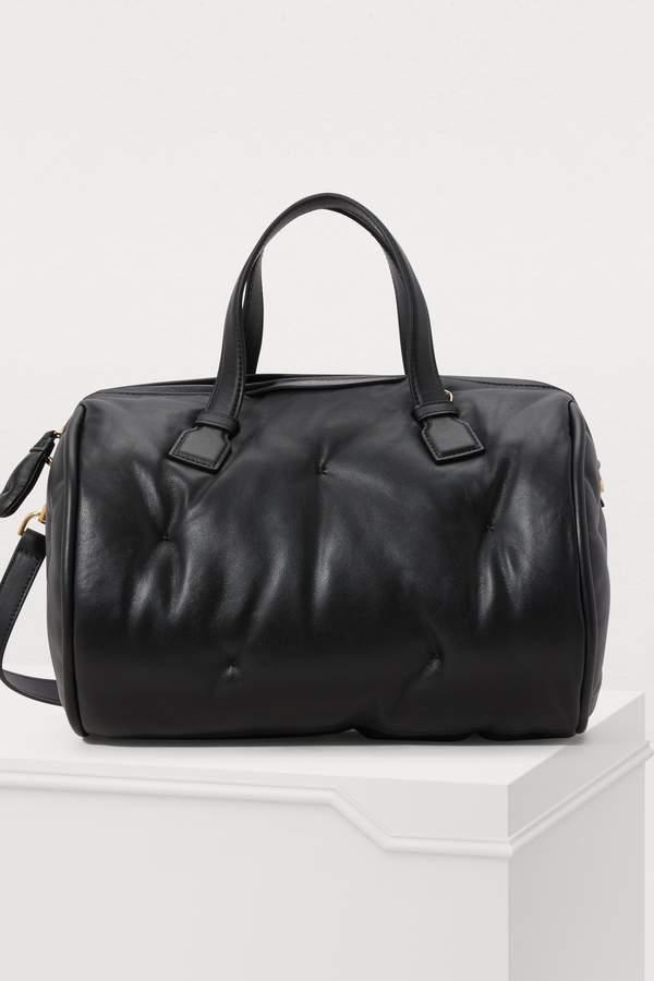 Anya Hindmarch Chubby Barrel leather shoulder bag