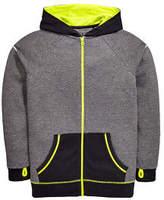 Very Tech Sports Zip Hoody in Grey Size 13-14 Years