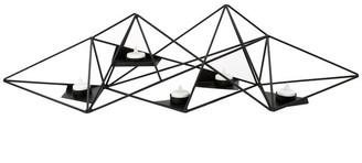 Ctg Brands Inc. Modern and Sleek Geo Prism Metal Tealight Candle Holder