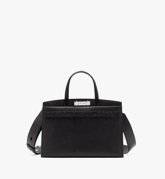 MCM Milano Tote Bag in Goatskin Leather