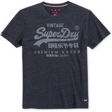 Superdry Men's Premium Goods Graphic-Print Logo T-Shirt