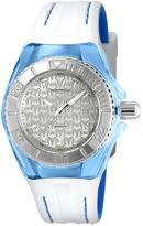 Technomarine Blue & Silvertone Silicone Cruise Bracelet Watch