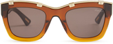 Lanvin Square-frame acetate sunglasses