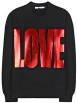 Givenchy Embellished Cotton Sweatshirt
