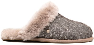 UGG Fur-Lined Slippers