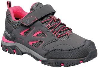 Regatta Holcombe IEP Low V Junior Waking Shoe - Grey Pink