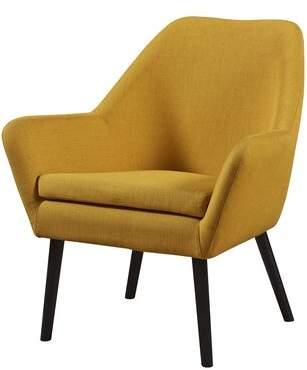 Ebern Designs Ringwold Upholstered Dining Chair Ebern Designs Upholstery Color: Yellow