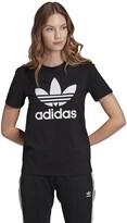 adidas Original Cotton Mix T-Shirt with Crew-Neck and Short Sleeves