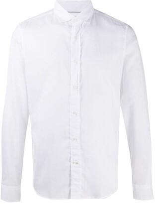 Brunello Cucinelli Pointed Collar Cotton Shirt